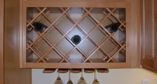 kitchen classy bed bath and cabinet elegant under cabinet wine glass rack home depot shining