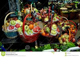 christmas fruit baskets bangkok thailand fruit gift baskets editorial stock