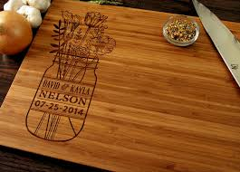 wedding gift kitchen personalized wedding gift custom cutting board anniversary