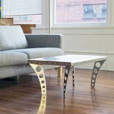 Aluminum Coffee Table Jetset Coffee Table Aluminum Ramona Metal Touch Of Modern
