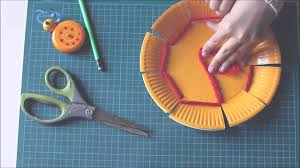 weaving a paper plate youtube