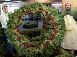 fresh wreaths garlands fernhill farms