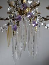 Glass Crystal Chandelier Drops Chandelier Spares Ebay