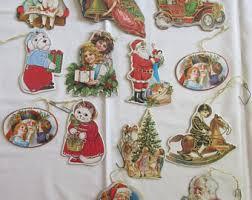cardboard ornaments etsy