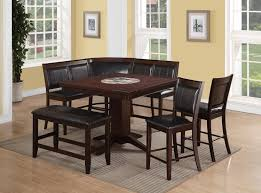 dining room table with bench with back bench decoration