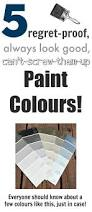 no fail paint colors that will look good with anything and in any
