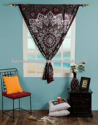 hippie home decor curtain tapestry wall hanging twin star round