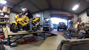 Motorcycle Bench Lift Motorcycle Bench Table Youtube