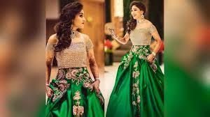 designer indian bridal dresses for reception bridal reception
