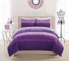Black And Purple Bed Sets Amazing Purple Comforter For Teenage Girls Of Beautiful Comforter