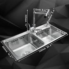 aliexpress com buy kemaidi kitchen stainless steel sink vessel