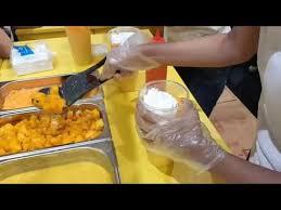 Mango Bomb keseruan opening mango bomb di baywalk mall bersama keluarga raffi