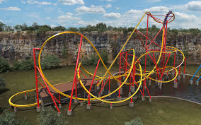 Texas Giant Six Flags Five Record Breaking Rollercoasters Are Coming To Six Flags Next
