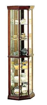 wood curio cabinet with glass doors wood curio cabinet with glass doors corner curio cherry finish wood