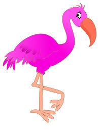 vector pink flamingo clipart the cliparts