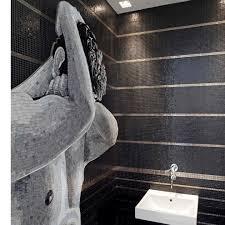 bathroom mosaic tile pool wall glass hedonism sicis