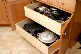 pull out drawers for kitchen cabinets stylish inspiration ideas 17