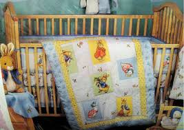rabbit crib bedding classic bunny beatrix potter rabbit baby nursery crib