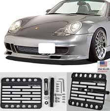 porsche boxster front for 96 04 porsche boxster 986 front bumper tow hook license plate