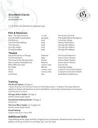 Additional Skills For Resume Examples by Film Acting Instructor Cv Beispiel Film Production Resume