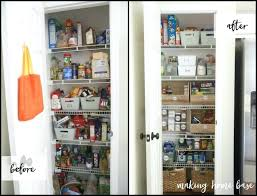 kitchen organisation ideas kitchen cabinet organization ideas organized pantry before and after