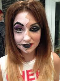 halloween makeup artists creative portfolio the dollz by samantha mercer makeup artist