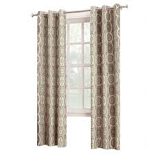 Pattern Window Curtains Calico Pattern Linen Window Curtain Panel At Home At Home