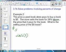example percentage word problems percent word problems