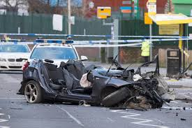liverpool car crash man dies after police chase ends in collision