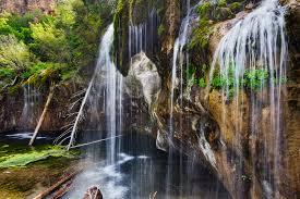 Colorado waterfalls images Hanging lake jpg