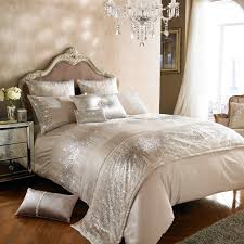 kylie minogue at home eloise stone gold sequin duvet quilt cover