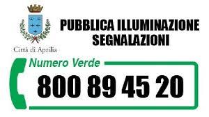 consip illuminazione pubblica pubblica illuminazione un numero verde per le segnalazioni della