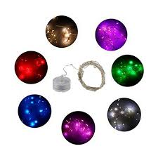 20 led micro lights battery operated 3pcs lot cr2032 battery operated 2m 20led micro waterproof silver