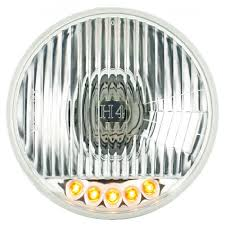 12 Volt Led Light Bulbs by F 100 Crystal Halogen Headlight W H4 Bulbs U0026 Led Set 12 Volt 58 60