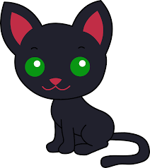 animated halloween cat animated black cat clipart collection