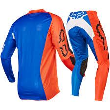Fox 2017 Mx New 360 Creo Orange Blue Ktm Jersey Gloves Pants