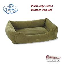 Sofa Bed For Dogs by Plush Donut Style Bumper Dog Bed