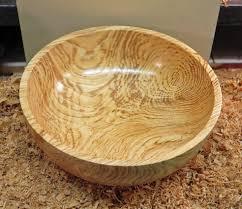 wood turning finishing a rough turned ash bowl youtube