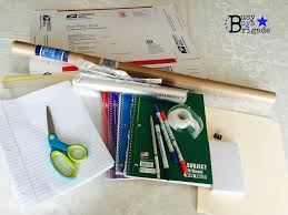 how to organize easy peasy homeschool on a budget with diy storage