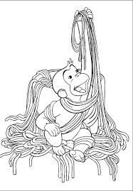 free curious george coloring pages coloring