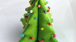 felt christmas how to make a diy felt christmas tree diy crafts tutorial