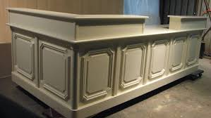 Banquette Salon Design by Home Design Vintage Salon Reception Desk Flooring Cabinetry