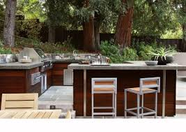 Outdoor Kitchen Bbq Designs by Outdoor Bbq Design Patio Contemporary With Stone Wall Stone Paving