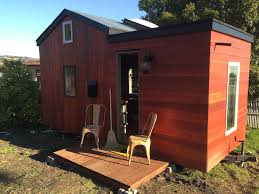 Rooftop Deck House Plans by Rooftop Deck On This Designer Tiny House In Oakland California