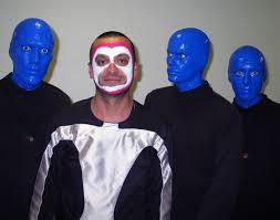 Blue Man Group Halloween Costume Gerhard Schmitt Aka Schmittke Gitarrist