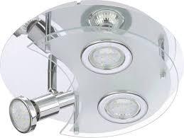 badezimmer deckenlen led marco tielle led drei punkt licht runde spot mit chrom mit