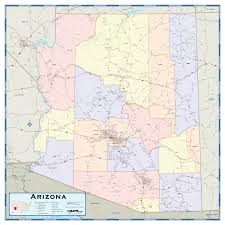 County Map Of Colorado Arizona Counties Wall Map Maps Com