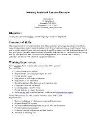 Professional Summary Resume Sample by Cna Resume Examples Haadyaooverbayresort Com