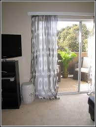 Sliding Curtain Rods Curtains For Sliding Glass Door Image Of Simple Curtains For