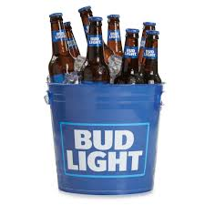 bud light beer alcohol content bud light full wrap graphic plastic bucketthe beer gear store